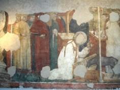 "Presepe di Greccio, ""Le Storie di San Francesco"" (XIV sec.). Pinacoteca Diocesana"